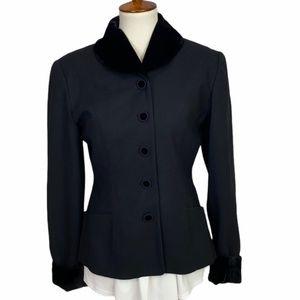 Bebe Black Career Wool Blazer